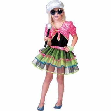 Popster carnavalspak voor meisjes