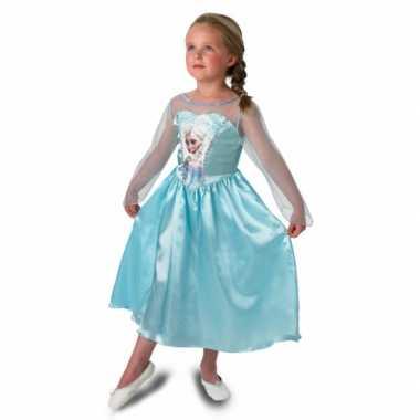 Prinsessen feest carnavalspak elsa voor meisjes
