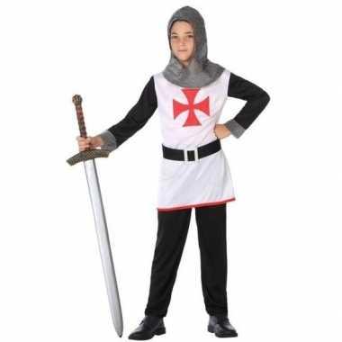 Ridder pak/verkleed carnavalspak voor jongens