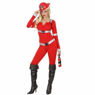 Rode brandweer carnavalspaks