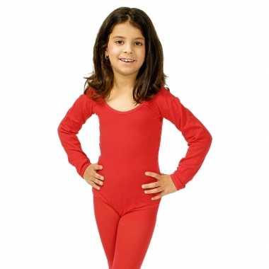 Rode kinder ballet carnavalspak