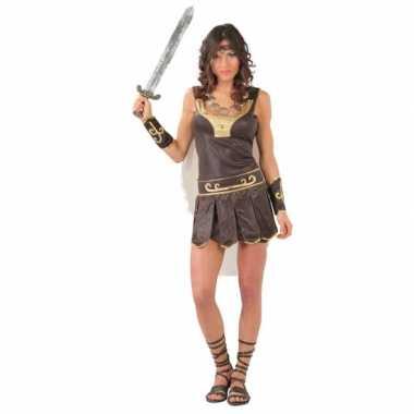 Romeinse gladiator carnavalspak dames