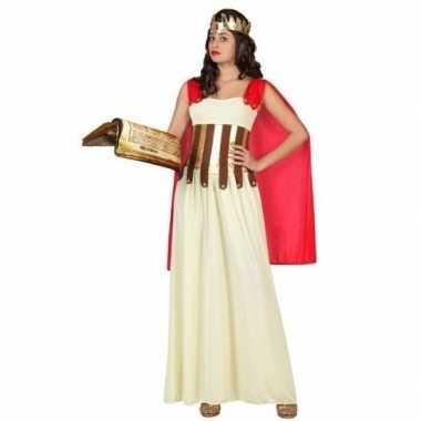 Romeinse/griekse dame aurelia verkleed carnavalspak/jurk voor dames