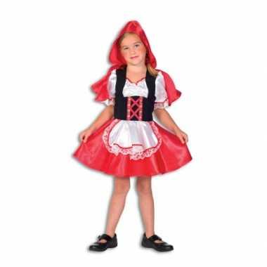 Roodkapje carnavalspak voor meiden