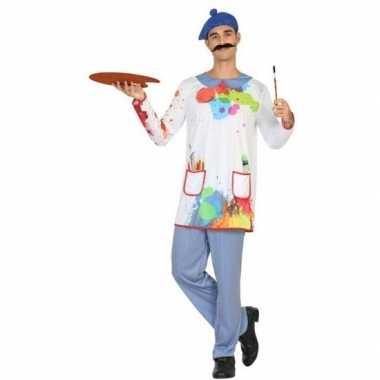 Schilder verkleed pak/carnavalspak voor heren