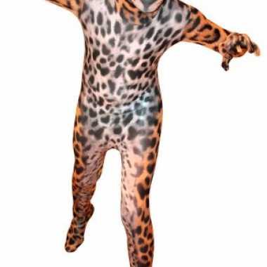 Carnavalspak pak met luipaard print