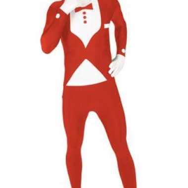 Carnavalspak pak smoking rood