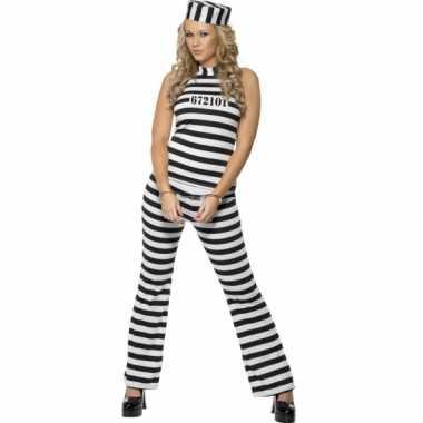 Sexy boef carnavalspak voor dames