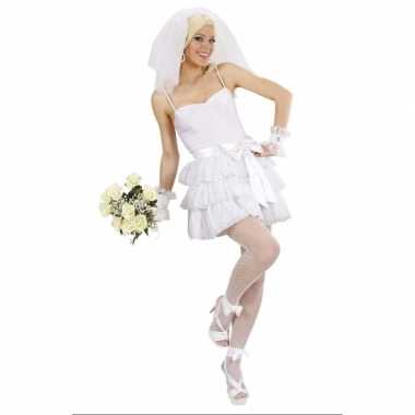 Sexy bruidscarnavalspak voor dames