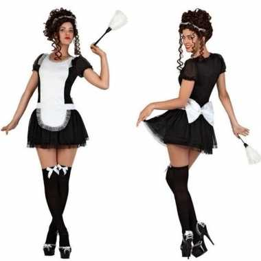 Sexy dienstmeisje verkleed carnavalspak/jurkje voor dames