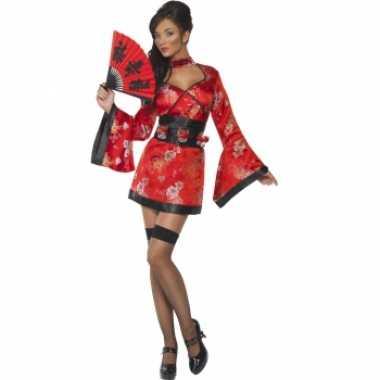 Sexy japans carnavalspak voor dames