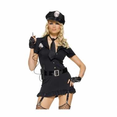 Sexy politie carnavalspak carnavalspak voor dames