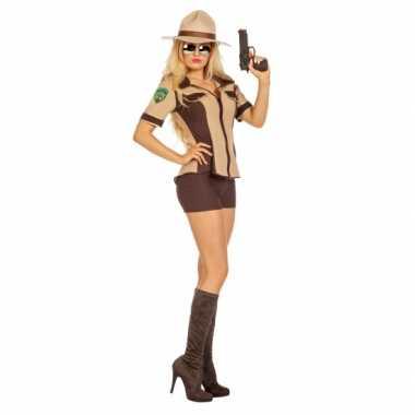 Sexy sheriff carnavalspak voor dames