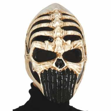 Skelet masker voor carnaval