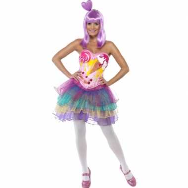 Snoepjes carnavalspak dames
