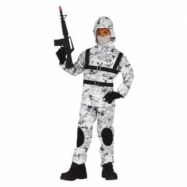 Soldaat special forces verkleed carnavalspak voor jongens