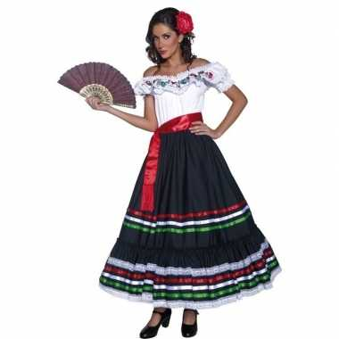 Spaanse danseres carnavalspak voor dames