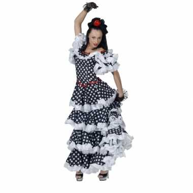 Spaanse flamenco carnavalspak dames