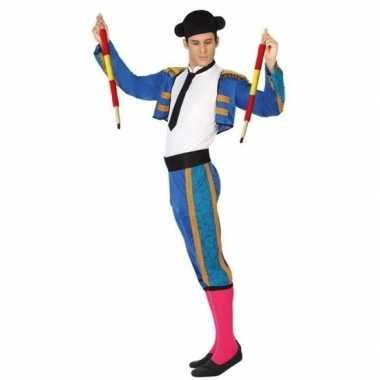 Spaanse matador/stierenvechter verkleed carnavalspak voor heren