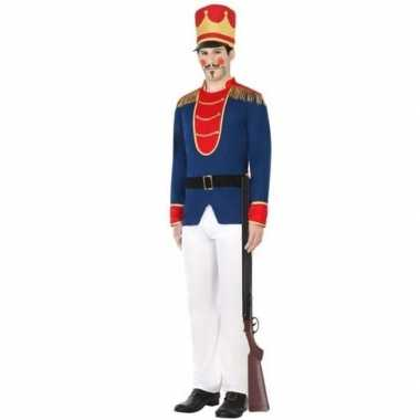 Speelgoed soldaat verkleed carnavalspak voor heren