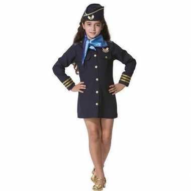 Stewardess carnavalspak voor meisjes