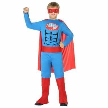 Superheld pak/verkleed carnavalspak voor jongens