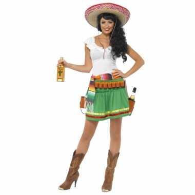 Tequila carnavalspak voor dames