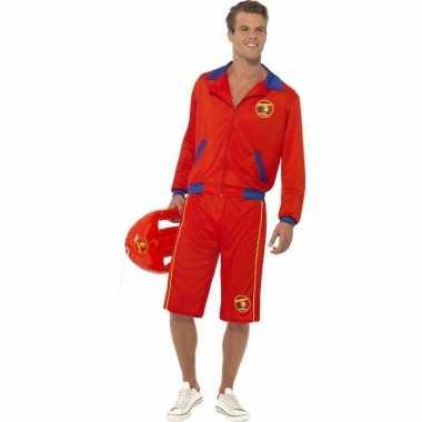Toppers baywatch verkleed carnavalspak voor heren