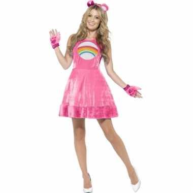 Troetelbeer jurkje roze voor dames