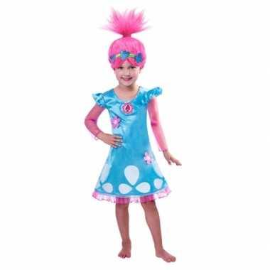 Trolls poppy carnavalspak voor meiden