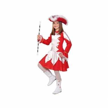 Twirl verkleedcarnavalspak rood voor meiden