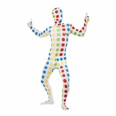 Twister carnavalspak pak voor volwassenen