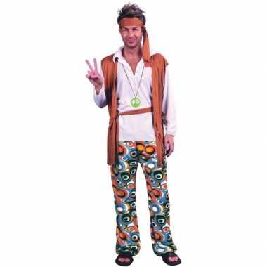 Verkleed carnavalspak hippies