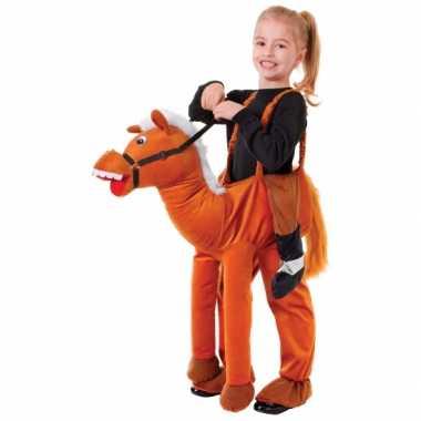 Verkleed stap in paard carnavalspak voor kids
