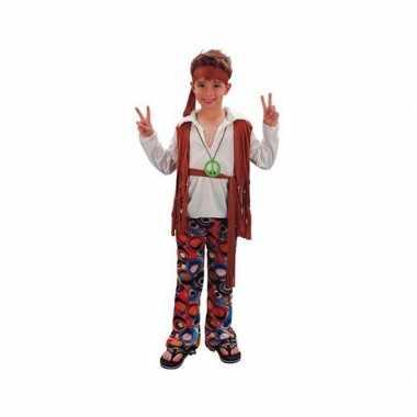 Voordelig hippie carnavalspak voor jongens