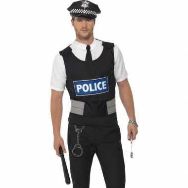 Voordelige politie carnavalspak