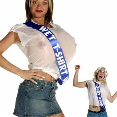 Wet t shirt contest winner carnavalspak