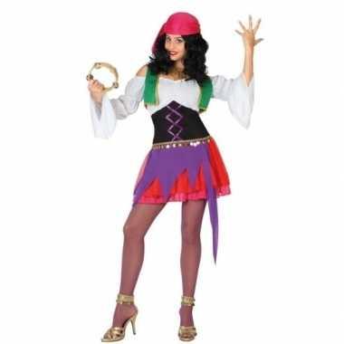 Zigeunerin carnavalspak 3 delig voor dames