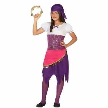 Zigeunerin esmeralda carnavalspak voor meisjes