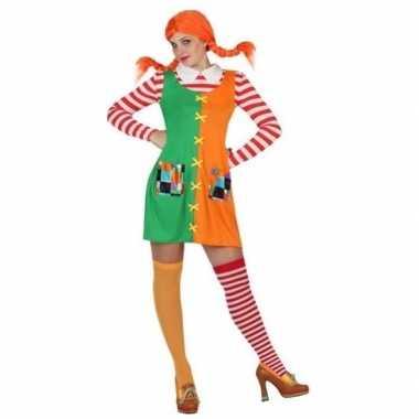Zweeds sterk meisje carnavalspak voor dames