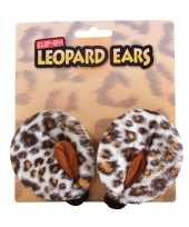 Carnavals luipaard oren