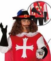 Carnavalspak musketier accessoire volwassenen 10064667