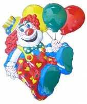 Carnavalsversiering clown 50 cm