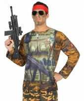 Compleet soldaat carnavalspak voor heren